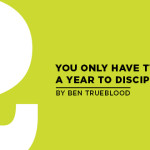 You Only Have Two Days a Year to Disciple Students