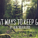 3 Great Ways to Keep Growing