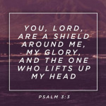 Wallpaper: You, Lord, are a Shield Around Me