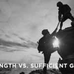 Strength vs. Sufficient Grace